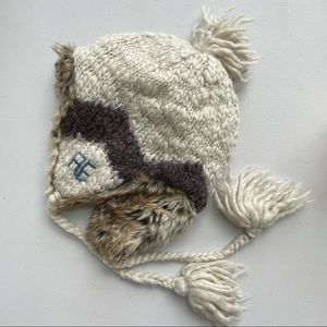 AE American Eagle knit trapper hat winter hat